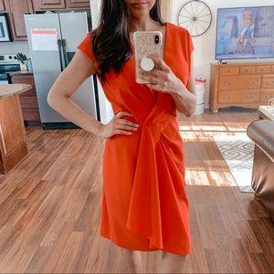 Anne Klein   Burnt orange dress